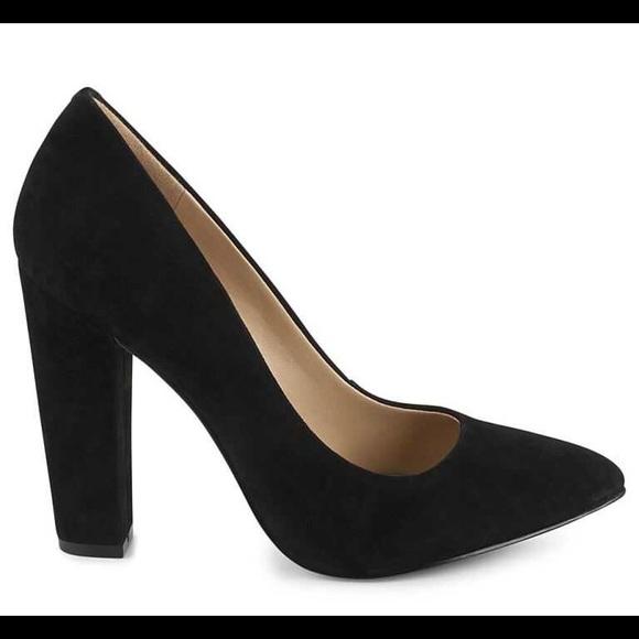 11f76bad688 BCBGeneration Shoes - BCBG Clarice black block heel pumps